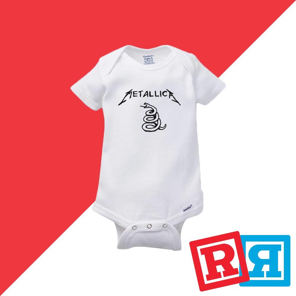Metallica baby gerber onesie bodysuit